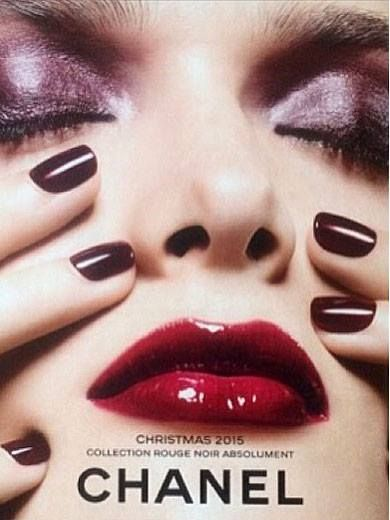 Chanel Rouge Noir Absolument Holiday 2015 Collection