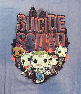 FUNKO Suicide Squad Legion Of Collectors DC T-Shirt Brand New In Package #Funko #SuicideSquad