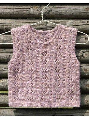 Anemone. 1,10 years. Knitting For KidsKnitted BabyAnemones10 YearsVestBaby  GirlsChildren