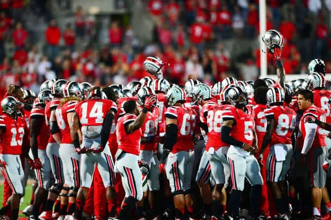 The Ohio State Buckeyes have completed their 2015 football schedule with the addition of games against Hawaii and Western Michigan, the school announced today.