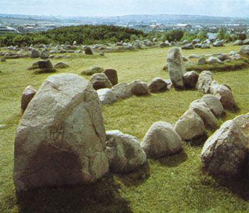 Viking burial site, Lindholmhøje - Nørresundby, Denmark Cemetery cemeteries graveyards