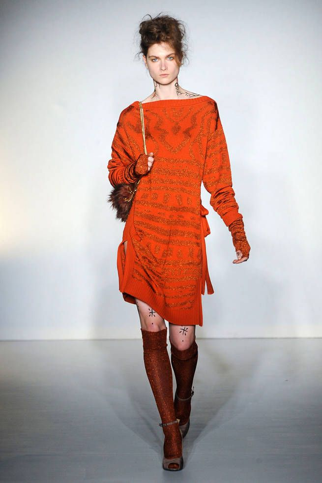 Vivienne Westwood Red Label Fall 2012 Runway - Ready-To-Wear Collection