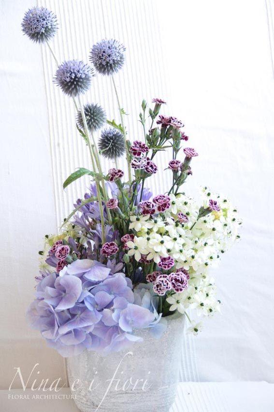 pastel flower arrangements