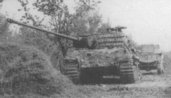 https://flic.kr/p/z2BSpN   Panther Pz.Reg. 26, Italy Spring 1945.