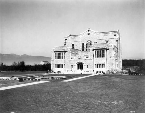University of British Columbia Library circa 1929 City of Vancouver Archives