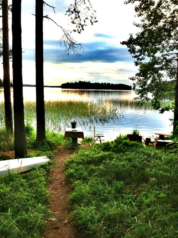 Suomi Finland ja Kolima järvi.