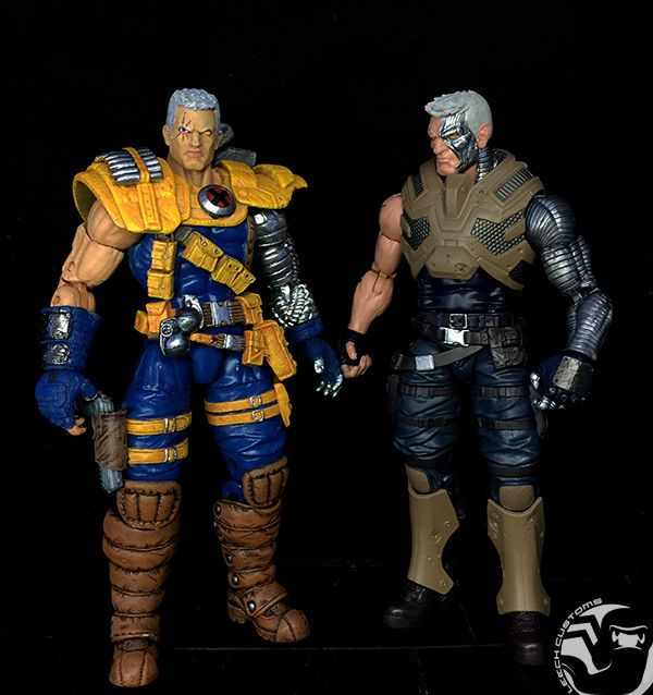 Cable (classic) (Marvel Legends) Custom Action Figure [Just dont like the game based Cable]