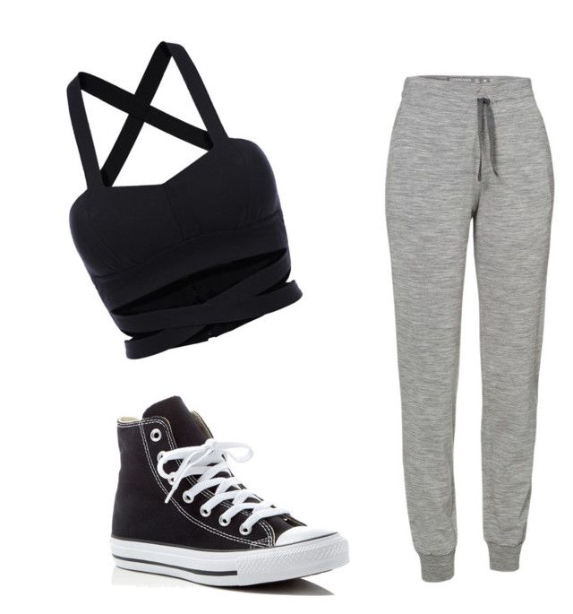 looks deportivo by lidiasalazar on Polyvore featuring polyvore beauty Icebreaker Converse
