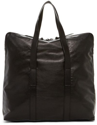 AllSaints Toguri Cow Leather Holdall Bag