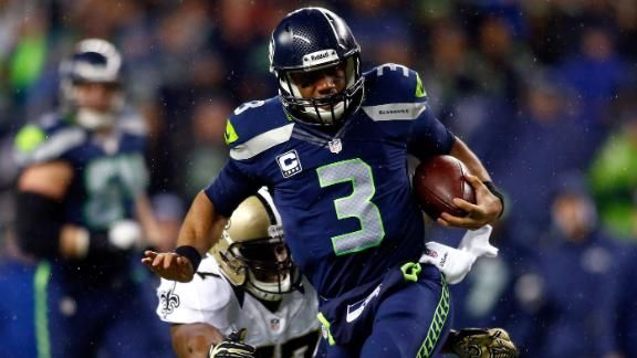 Russell Wilson, Seahawks dominate Saints, clinch playoffspot