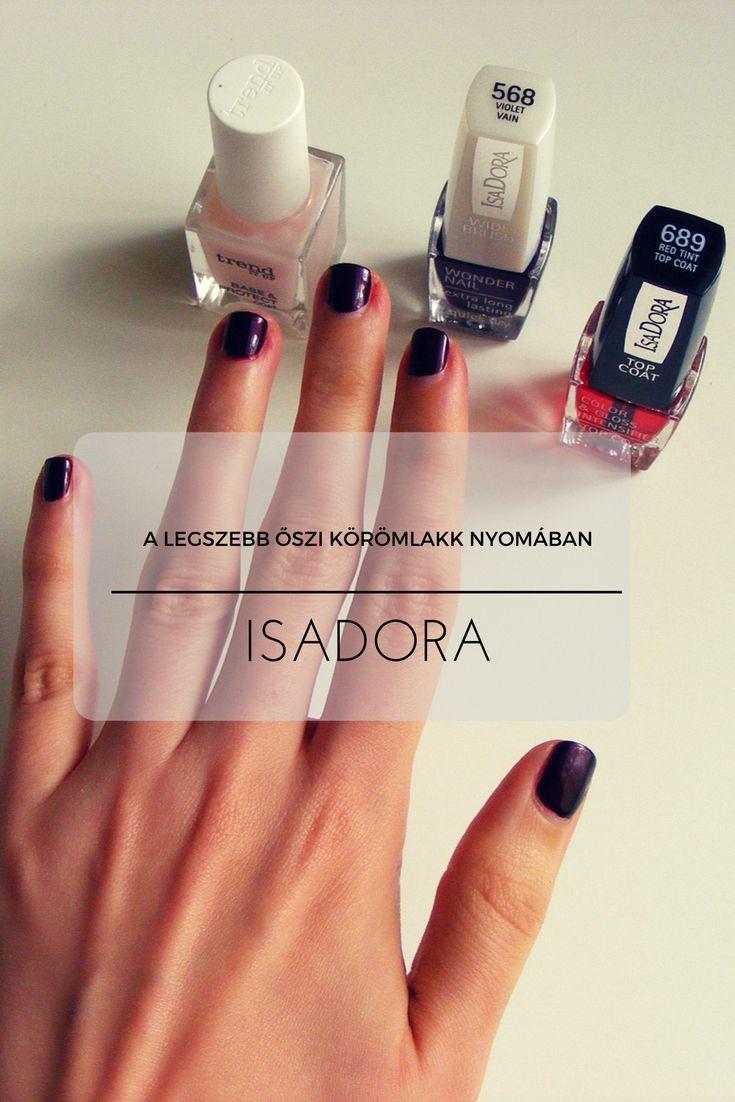 #isadora #isadoramakeup #haboskakaoblog #iconicnails #wondernail #nailpolish #autumnnails