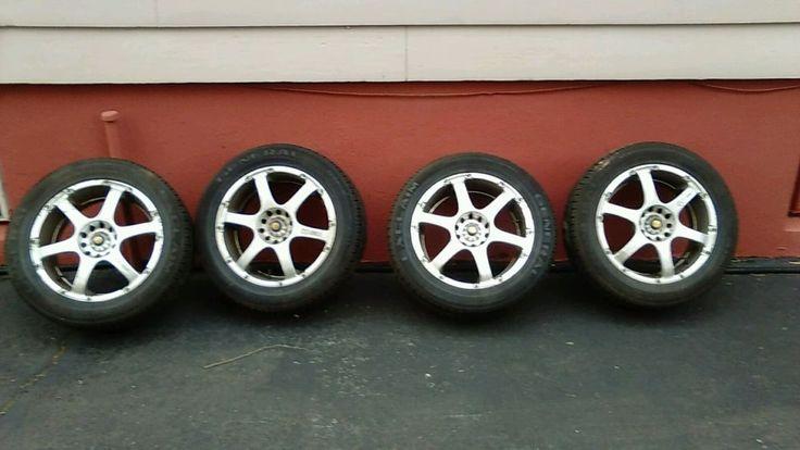 Enkei Aluminum Wheels 16 inch Rims Nissan maxima #Enkei