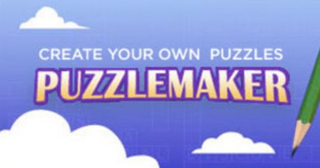 If you search the web constantly for a free puzzle maker that generates answer keys for you and gives you a variety of puzzle types to ...