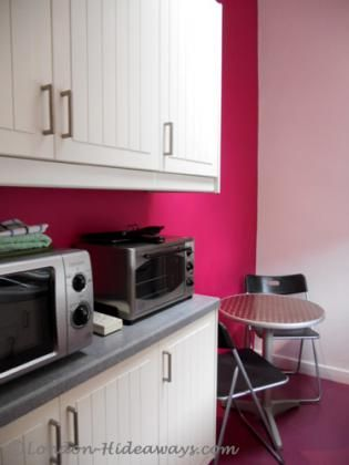 Kitchen facilities - Small fridge, Microwave Mini oven, Hot plates, Percolator, Kettle Dinnerware and cookware provided