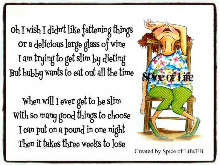 Diet Poem | Diet motivation quotes funny, Diet