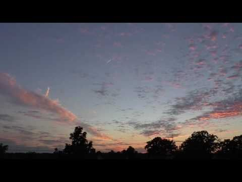 Beautiful sunset after a rainy day (time lampse) - YouTube