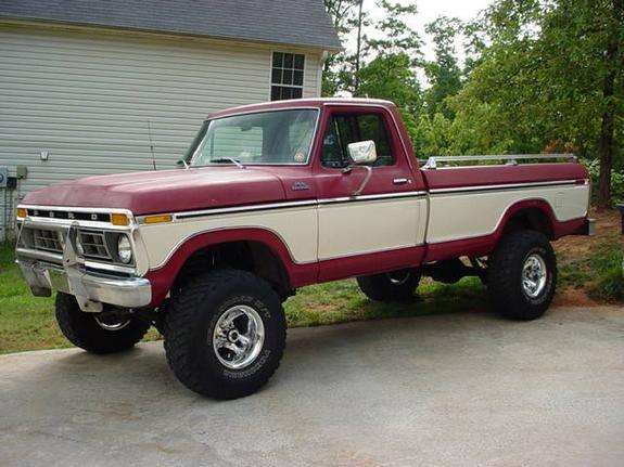 "Big Ford Trucks   1977 Ford F150 Regular Cab ""Big Ford Truck"" - Cartersville, GA owned ..."