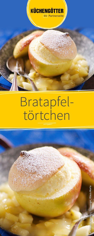 Rezept für Bratapfeltörtchen