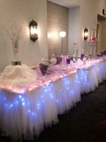 Table Decoration Candy Table Decorations For Quinceanera Candy Bar 16
