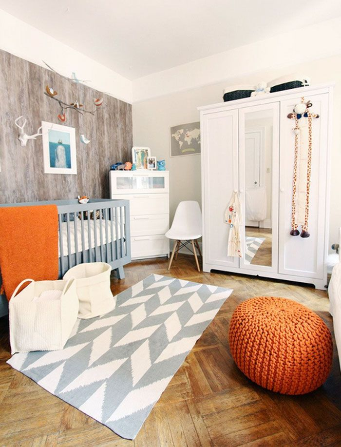 Fox Inspired Nursery via momsbestnetwork.com