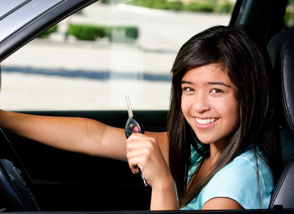 5 Best Used Cars for Teen Drivers - Consumer Reports News  is the first half.  The second is teaching them the ABC's of their vehicle's maintenance.  http://youngautomotive.net/