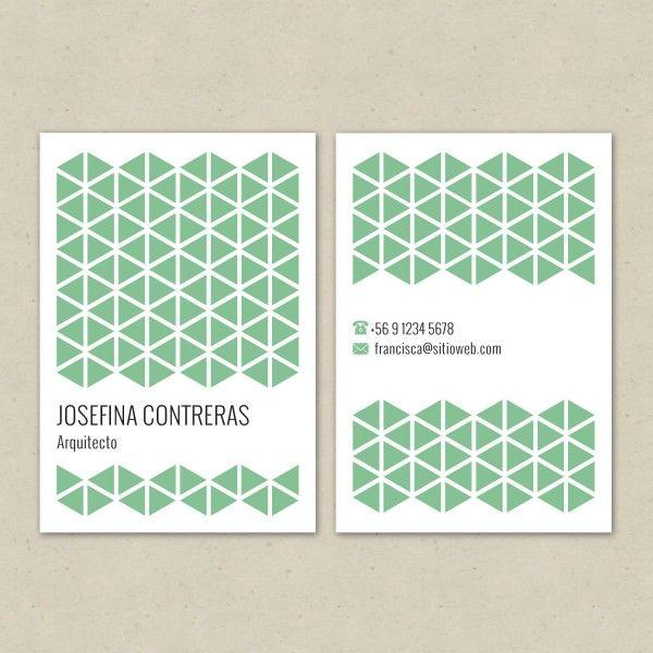 Tarjeta Nº4 Verde | Diseño & Papel | Tienda Online