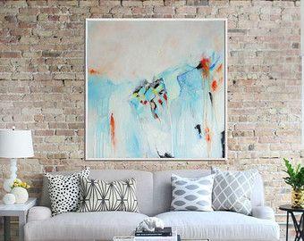 Lienzo abstracto  Título: caballos salvajes  Tamaño: 30 x40  Se trata de una obra de arte original, pintado a mano en acrílicos sobre lienzo. Los lados están pintados, por lo que está listo para colgar o puede mostrarse en un marco flotante.  Nota: no se incluyen los cuadros en la imagen. La imagen no puede ser a escala   Gracias por visitar mi tienda :)