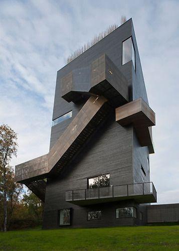 Steven Holl Architects — Knut Hamsun Center #architecture ☮k☮
