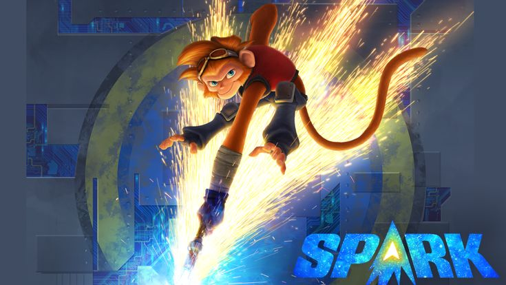 Spark (known as Spark: A Space Tail in the United States), is a 2016 3D computer-animated science fiction adventure comedy film written and directed by Aaron Woodley, and featuring the voices of Jessica Biel, Hilary Swank, Susan Sarandon, Patrick Stewart, Jace Norman and Alan C. Peterson.  Hollywood Movies Hindi Dubbed HD
