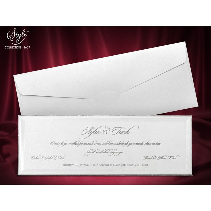 Style Düğün Davetiyesi Modelleri 3667