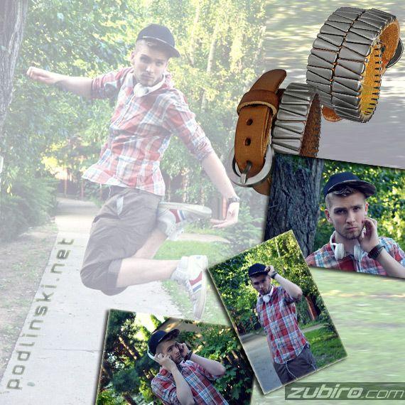 pump it – stylizacja Łukasza Podlińskiego  Zobacz więcej ciekawych zdjęć: http://menosfera.com/?p=5221 Bransoletki skórzane: http://zubiro.com/bransoletka_meska_skorzana,5,3492.html