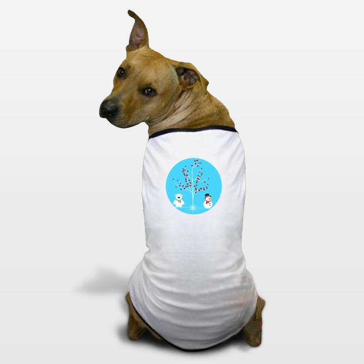 Shop for unique nursery art like the winterland Dog T-Shirts by haroulita on BoomBoomPrints today!  Customize colors, style and design to make the artwork in your baby's room their own!