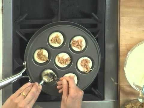 How To Make Filled Pancakes - Ebelskivers