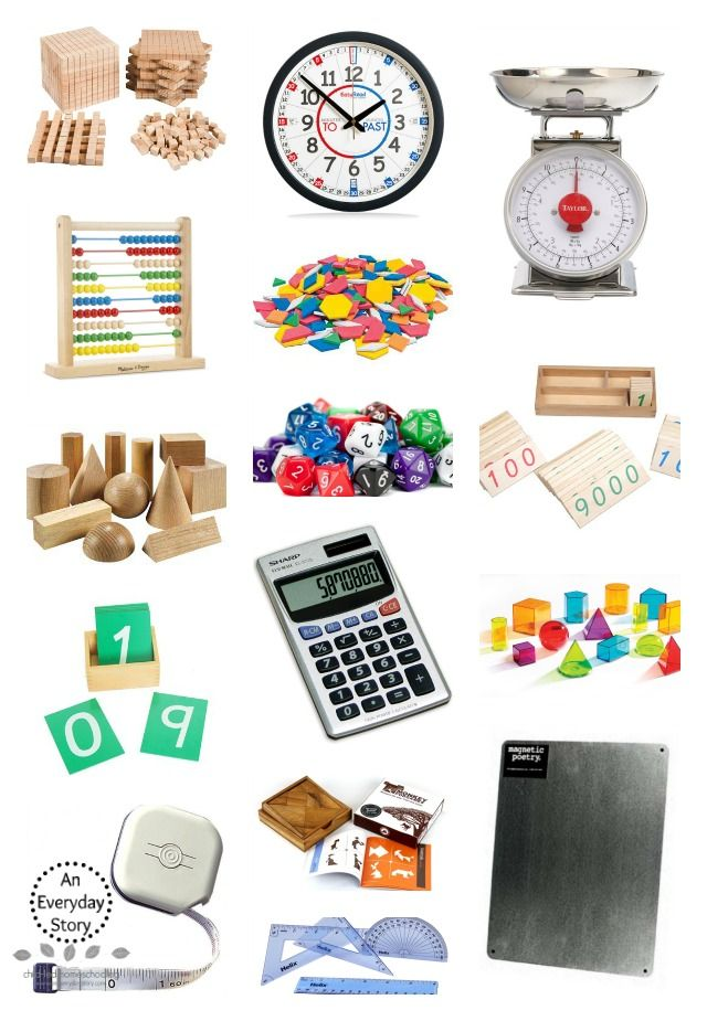 Math Materials for Inquiry Based Learning - An Everyday Stoy
