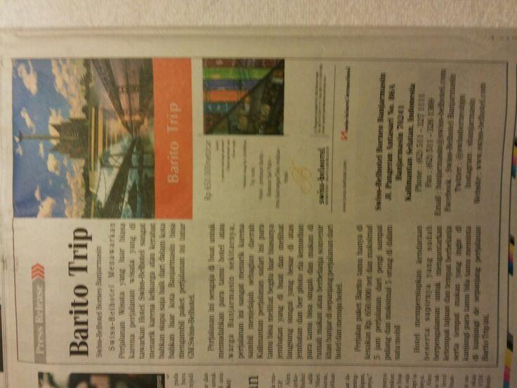 Today Media Kalimantan Post Swiss-Belhotel Borneo Banjarmasin South Kalimantan Indonesia