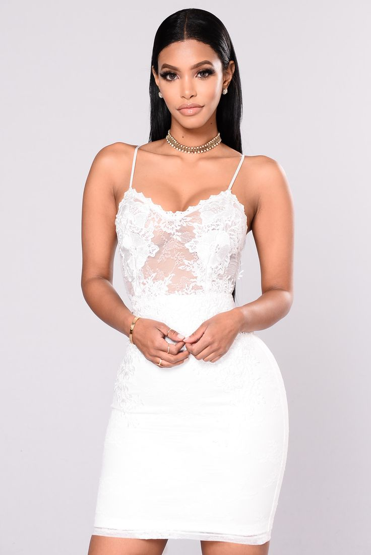 Available In White Lace and Crochet Trim With Zipper And Adjustable Strap