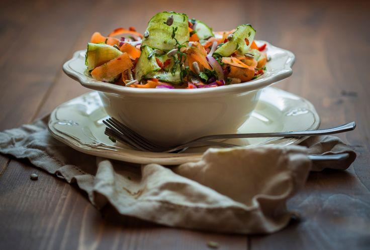 Фотосет с мастер-класса по Фуд-фото: Вблоге можно найтитакже мои рецепты салатов на любой вкус.