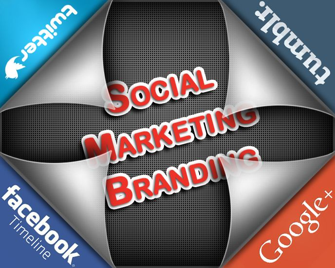 Social Marketing Branding. Let people find you business on the social networks