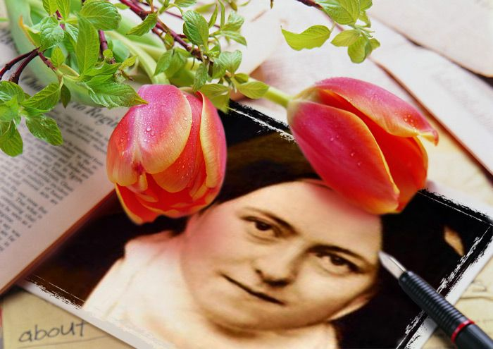 Teresa de Lisieux, agradecimiento por el Dios misericordioso