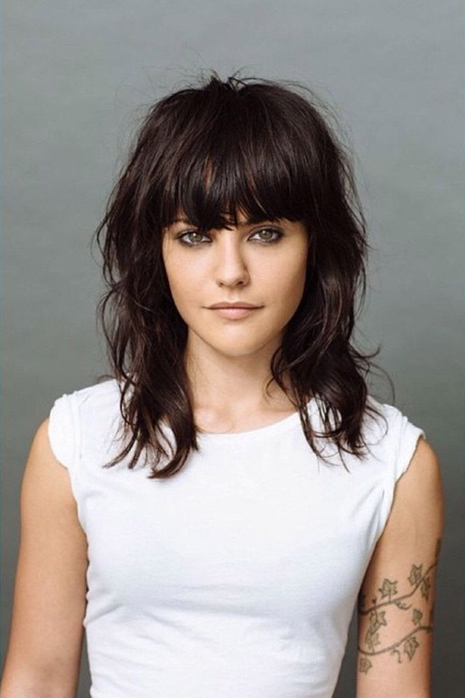 styles of bangs for medium hair hairstyles for medium hair hair 5663
