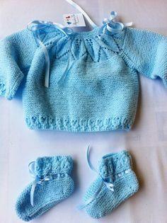 ¡¡Buenos días!! Voy a añadir la última publicación de un conjunto en lana, ya que con la llegada del buen tiempo, los trabajos de lana p...