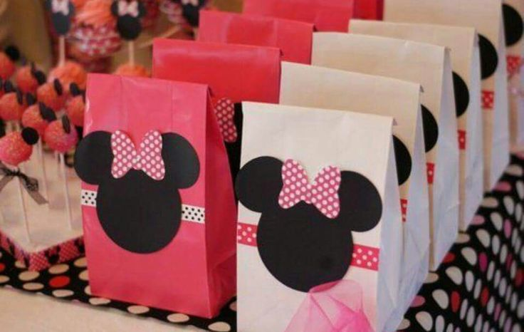 Decoracion bolsitas Minnie