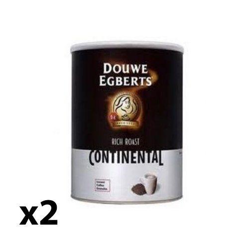 Douwe Egberts Continental Rich Roast 750g X 2