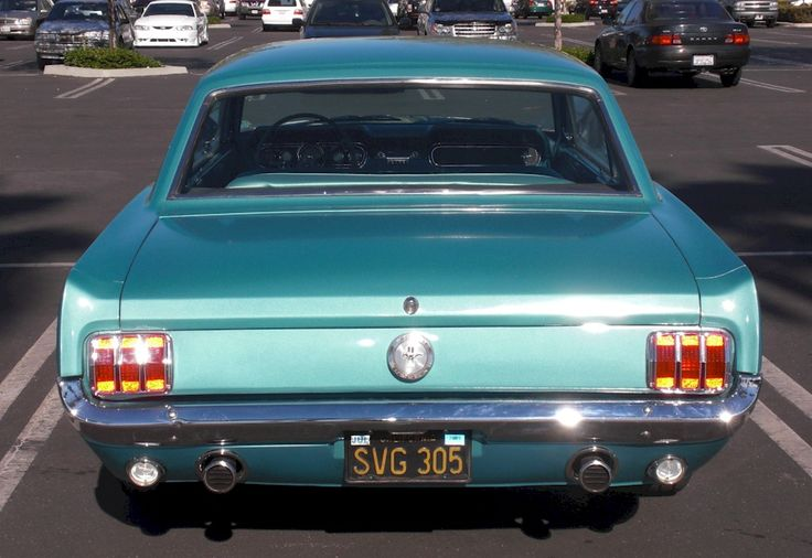 Tahoe Turquoise Blue 1966 Mustang Hardtop Mustang Classic Cars Muscle Old Classic Cars