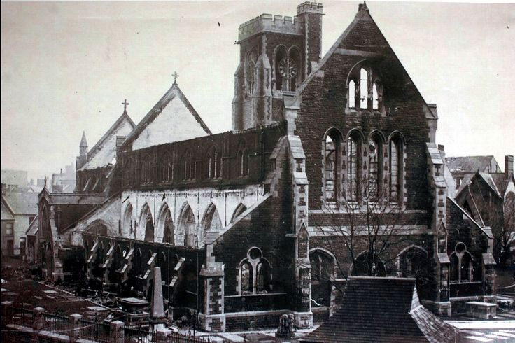 How Swansea's devastating Blitz was seen through the eyes of children - Wales Online - St. Mary's Church Swansea