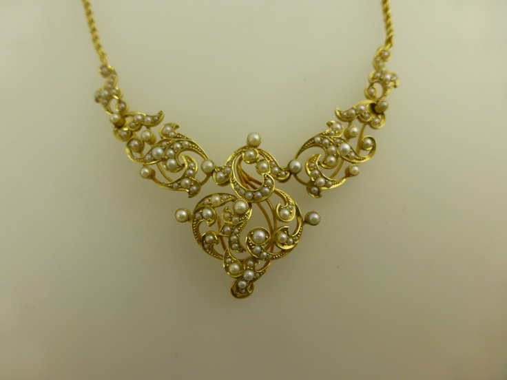 Victorian Seedpearl Necklace £1,000 The most beautiful ...