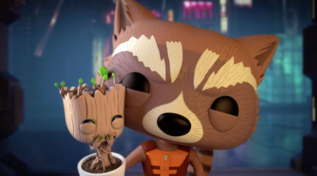 Rocket And Baby Groot Bait And Switch Marvel Baby Groot Rocket