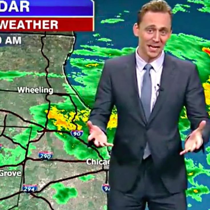 Tom Hiddleston Gives A Local Weather Report As Loki, Blames Everything On Thor