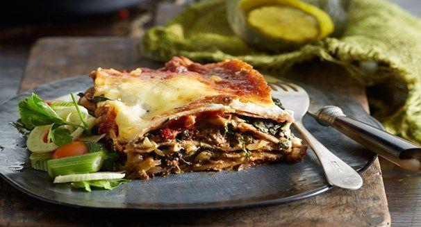 Healthier lasagne