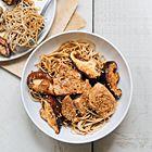 Een heerlijk recept: Noedels met tonijn met sesam en gebakken shiitake